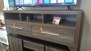 TV Stand up to 70in TVs, Distressed Grey, SKU 171916 for Sale in Santa Ana, CA