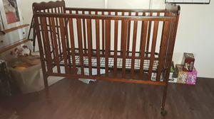 Baby crib $40 obo for Sale in Hemet, CA