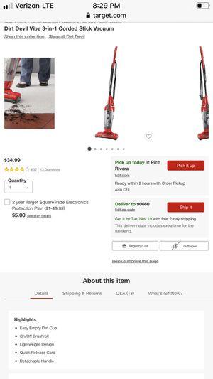 Dirt devil vacuum for Sale in Anaheim, CA