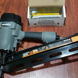 Pneumatic 21-Degree 3-1/2 in. Full Round Head Framing Nailer for Sale in Laurel, MD