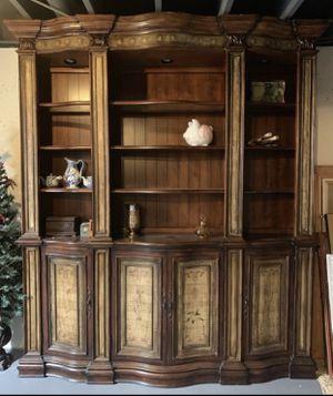 Walter E Smithe credenza, cabinet book shelve $1500 for Sale in Oswego, IL