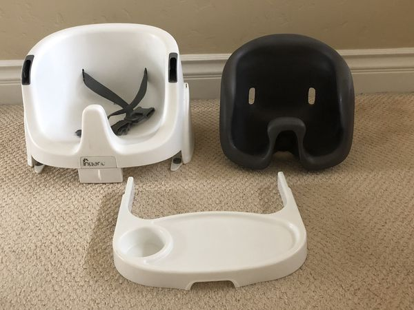 Versatile baby seat, high chair, booster chair