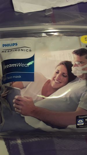 Philips DreamWear Full Face Mask (Small) for Sale in Winthrop, MA