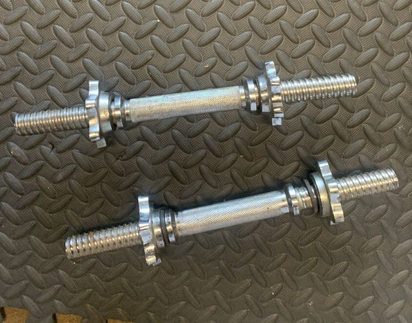 1' inch standard York weight set (140lbs+) with curling bar