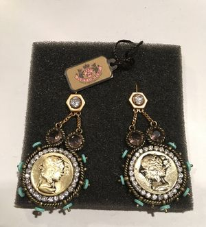 NEW! Juicy Couture GORGEOUS Earrings for Sale in San Diego, CA