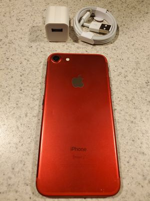 IPhone 7 128gb Factory Unlocked Product Red for Sale in Corpus Christi, TX