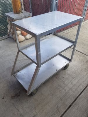 Rolling bench cart metal for Sale in Vancouver, WA