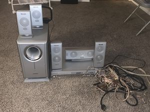 Panasonic home surround system for Sale in Hesperia, CA
