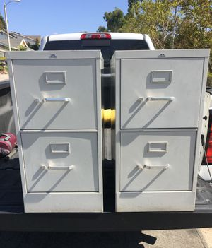 Pinnacle 2 drawer filing cabinets (2) for Sale in HUNTINGTN BCH, CA