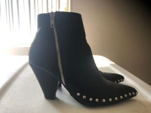 Stud black boot size 8 for Sale in Silver Spring, MD
