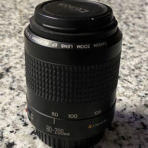 Canon EF 80-200mm Zoom Lens for Sale in Denton, TX