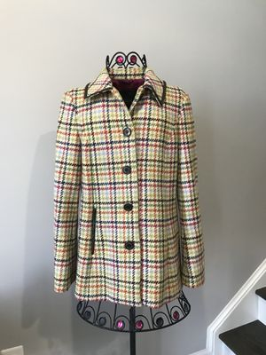 Coach wool coat size XS for Sale in Herndon, VA