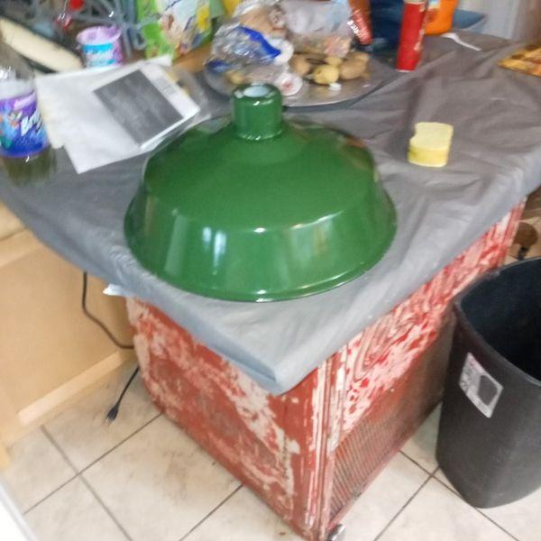 Antique Lamp Green Porcelain Lamp Shades