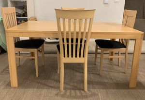 Italian Modern Dining Table & Chairs IMS-SRL for Sale in Chandler, AZ
