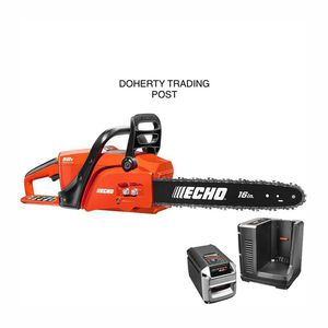 ECHO 16 in. 58-Volt Brushless Lithium-Ion Cordless Chainsaw 4.0 Ah Battery and Charger Included for Sale in Northampton, PA