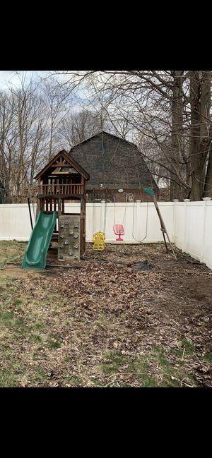 Backyard Swing Set for Sale in Meriden, CT