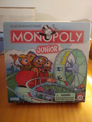 Monopoly Junior - New in box for Sale in Miami, FL