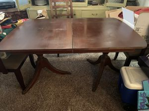 Antique Dining Room Table & 6 chairs for Sale in Nashville, TN