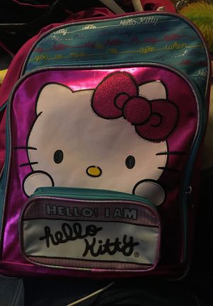 Hello kitty backpack for Sale in Raleigh, NC