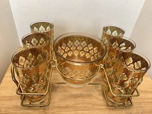 Mid Century Cocktail Set for Sale in Springfield, VA