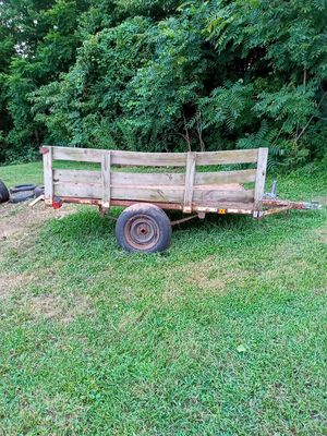 Double hitch dual axle utility trailer for Sale in Chicago, IL