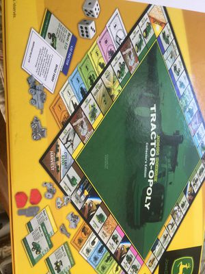 Euc Tractoropoly' Board Game Complete YOU DONT HAVE TO BE A FARMER ' to play ... for Sale in Brecksville, OH