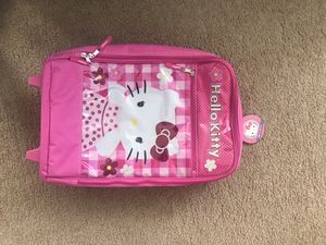New hello kitty kids travel bag, has tag on for Sale in Mill Creek, WA