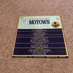 The greatest Motown 64 original hits for albums sit for Sale in Columbia, MO