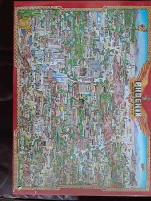 Phoenix unopened jigsaw puzzle for Sale in San Diego, CA