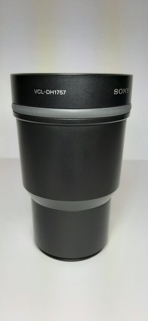 SONY tele angle conversion lens for dsc hx1 for Sale in Colorado Springs, CO