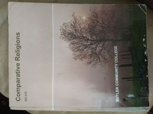 Comparative Religions textbook Butler Community College for Sale in Wichita, KS