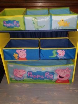 Peppa Pig Toy Storage Shelf for Sale in La Mirada,  CA
