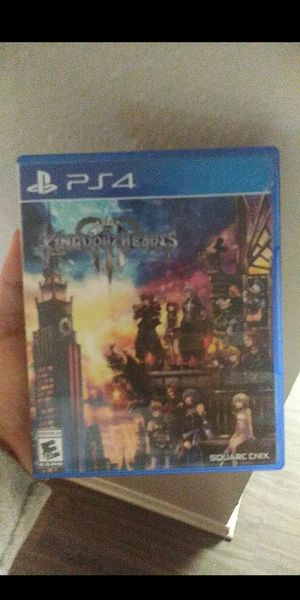 Kingdom heart 3 ps4 for Sale in Austin, TX