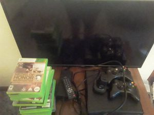 Xbox 360 and TVs and 16 games for Sale in Fairmont, WV