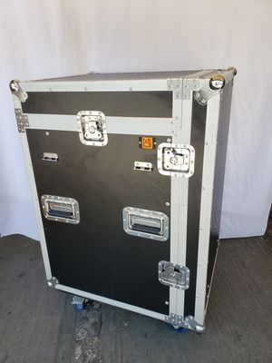 DJ EQUIPMENT RACK/TABLE WITH AMERICAN DJ PC 100A DBX CROSSOVER 223 DBX GRAPHIC EQUALIZER 231 166XL COMPRESSOR AND CE 2000 CROWN for Sale in Los Angeles, CA