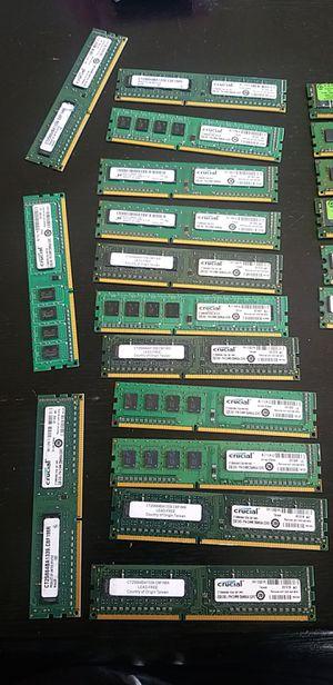 2gb Ram DDR3 $5 each for Sale in Las Vegas, NV