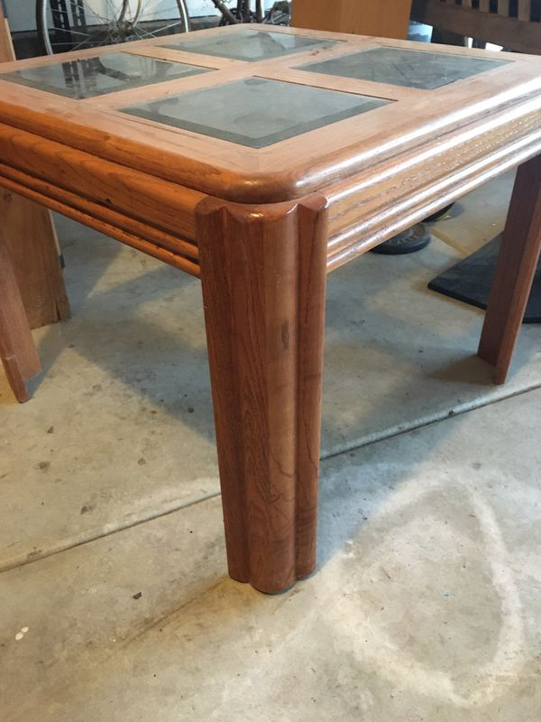 Square end, side table