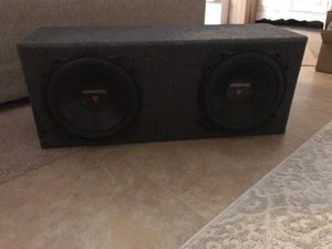Kenwood Subs with Amp for Sale in Spring Hill, FL