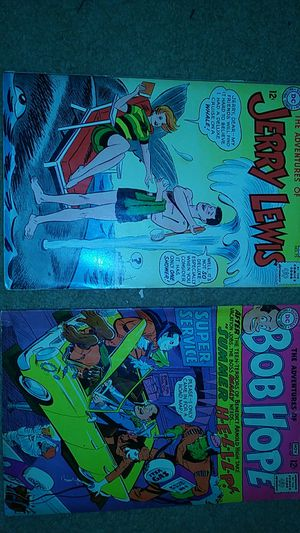 The adventures of bob hope, and the adventures of jerry lewis vintage comics for Sale in Fort Washington, MD