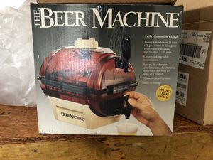 MOVING SALE: Make your own BEER MACHINE, new in box with accessories for Sale in Smyrna, TN