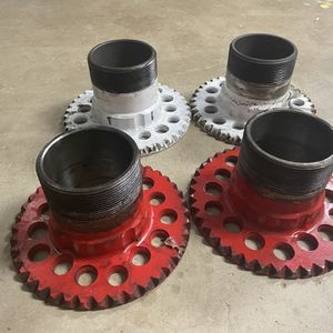 5 Lug Universal Adapters For Lowrider Wire Wheels for Sale in San Diego, CA