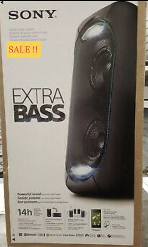 Sony Extra Bass Bluetooth Party Big speaker in New condition for Sale in Dallas, TX