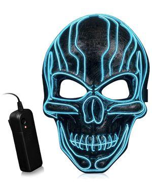 LED Halloween Mask Scary Costume Purge Mask for Sale in Salt Lake City, UT