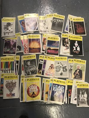 70 Playbills for Sale in Queens, NY