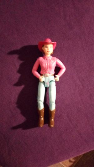 Rare 2001 Loving Family Mattel cowgirl doll figure for Sale in Tallahassee, FL