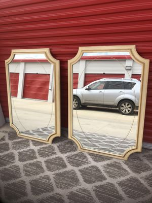 Pair Kent coffey wall mirrors for Sale in San Antonio, TX
