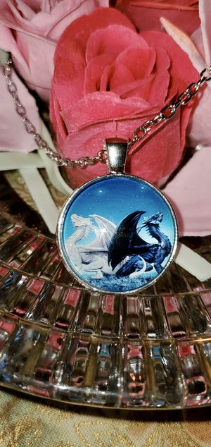 Dragon 🐉 NWT Pendant with Necklace for Sale in Ripley, WV