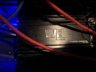 2,800 Watts Vfl Amp for Sale in Cleveland,  OH