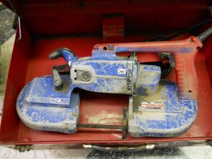Milwaukee portable band saw deep cut porta-band for Sale in Columbus, OH