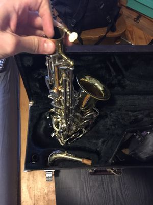 Yamaha alto saxophone with case and accessories! for Sale in Denver, CO